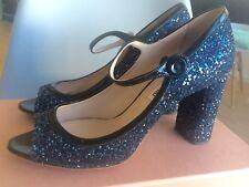 Miu Miu Peeptoes Schuhe blau