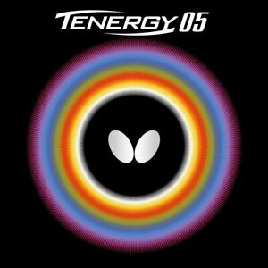 Butterfly Tenergy 05 Table Tennis Rubber [Black 1.9 / 2.1mm] [Red 1.9 / 2.1mm]