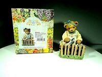 CHERISHED TEDDIES DELORES GARDEN CT022 A 2002 MEMBEARS ONLY FIGURINE RARE