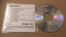 Moondust 21 Trk UK Promo Cd Ultra Rare Feat Bowie Ringo Byrds Hendrix Brian Eno