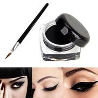 High Black Color Cosmetic Waterproof Eye Liner Eyeliner Shadow Gel Makeup&Brush