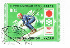 MONGOLIA stamp 1972 Winter Olympic Games, Sapporo, Japan