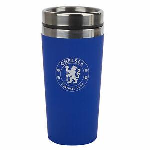 Chelsea Football Sport Travel Coffee Tea Mug Cup Kitbag - Unisex