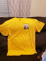 Cheech and Chong Buds Yellow Short Sleeve T-shirt Mens Size XL New Without Tags