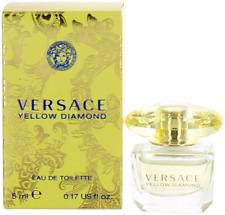 Yellow Diamond By Versace For Women Miniature EDT Perfume Splash 0.17oz New