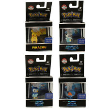 Pokemon Tomy Trainer's Choice Figures Series 1 - SET OF 4 (Oshawott, Mudkip++)