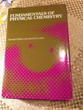 Fundamentals of Physical Chemistry H/B by Maron & Lando