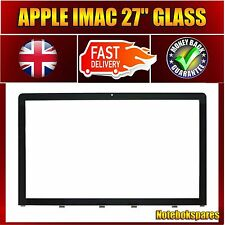"""Neuf Remplacement A1312 Pane OF GLASS/Verre Apple iMac 27"""" 2009 A 2012 Verre Avant"""