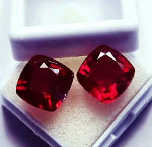 Natural Ruby Loose Gemstone 8 to 10 cts Certified Pair Best Offer