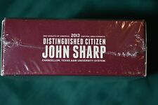2013 Honoring A Game Changer John Sharp Jigsaw Puzzle Distinguished Citizen