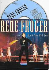 RENE FROGER - For a date with you CD SINGLE 2TR Europop Dutch Cardsleeve 1994