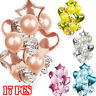 17pcs/set Wedding Birthday Balloons Latex Foil Ballons Kids Boy Girl Baby Party