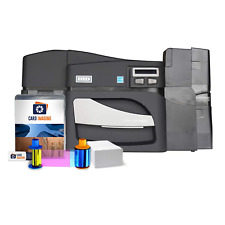 Fargo DTC4500e Dual side ID Card Printer Machine Bundle (2-Month Warranty)