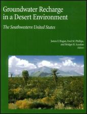 Groundwater Recharge In A Desert Environment : The Southwestern United States