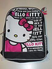 New ) Hello Kitty Book Bag