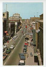 Downtown KITCHENER Ontario Vintage Chrome PC ca. 1960s