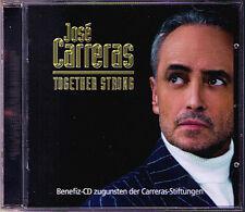 Jose Carreras: together strong Mescoli Rodrigo ROSSI Gardel CD volver tristezza