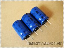 5pcs Philips PH 036 Series 10uF//63V Silver Aluminum Shell Electrolytic Capacitor