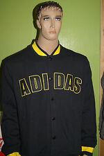adidas originals College Jacke Fleece VSTY Varsity Jacke Herren schwarz