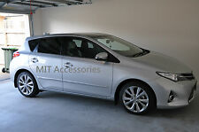 MIT Toyota AURIS Corolla Altis 2013-2014+ door body moulding side chrome molding