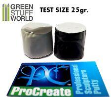 ProCreate Modelliermasse - 25gr. TEST-Format - Professionelle Kitt - Warhammer