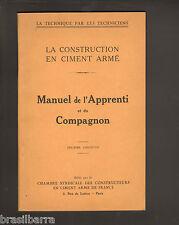 FASCICULE : MANUEL DE L'APPRENTI ET DU COMPAGNON