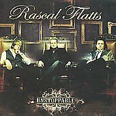 Rascal Flatts : Unstoppable CD DISC ONLY #75A