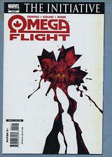 Omega Flight #2 2007 Marvel Comics The Initiative m