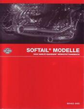 HARLEY-DAVIDSON Werkstatthandbuch DEUTSCH 2006 Softail 99482-06GA Buch Anleitung