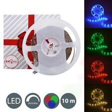 10M LED Streifen dimmbar Licht-Leiste RGB-Band Stripe Lichterkette Fernbedienung