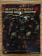 BattleTech Classic: Record Sheets Prototypes Click for more savings!