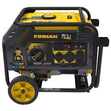 Firman Power Equipment Dual Fuel Gas/Propane 4550W/3650W Watts Generator H03652
