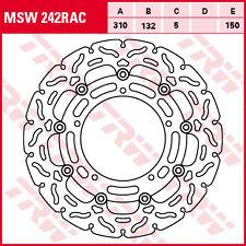 disque frein flottant avant  TRW  MSW 242 RAC YAMAHA  1200  XT-Z  XT-Z,ZE