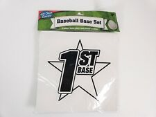 Baseball Base Set with Home Plate and Pitchers Mound All-star Sports 5 pc set