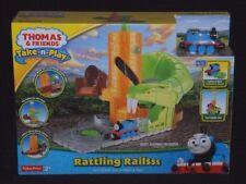 Thomas & Friends Rattling Rails Snake Take N Play Conjunto de Juego Inc Thomas Engine Nuevo Y En Caja