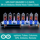 Nixie Clock IN-14 Arduino Shield NCS314 with Sockets FAST DELIVERY 3-5Days