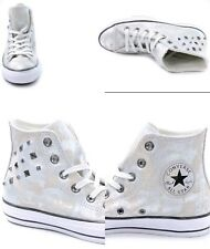 Leather Converse All Star SNEAKERS Shoes Runners US 8 UK 6 EUR 39 24.5 Cm