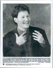 1990 Famed Radio Deejay TV Host Rick Dees Press Photo
