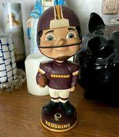 Vintage Washington Redskins NFL Football Bobblehead Nodder