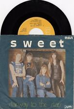 """THE SWEET STAIRWAY TO THE STARS RECORD 1977 YUGOSLAVIA 7"""" PS SINGLE"""