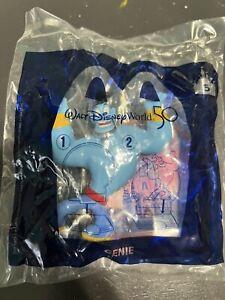 NEW SEALED #5 Genie 2021 McDonalds Walt Disney World 50th Anniversary Toy WDW