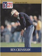 Ben Crenshaw #73 1990 Pro Set PGA Tour Golf Special Inaugural