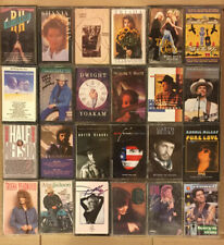 Lot Of 24 Country Music Audio Cassette Tapes