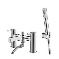WATERSMITH HERITAGE THAMES DECK-MOUNTED BATH / SHOWER MIXER TAP