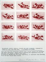 """Konzeptkunst. """"Go-Between"""", 1977. Dennis OPPENHEIM (1938-2011 USA), handsigniert"""