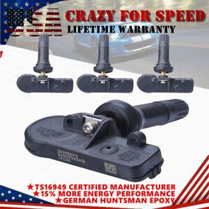 4PCS 13581558 13586335 TPMS Tire Pressure Monitoring Sensor For Chevy GMC Buick