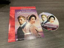 Persusasion DVD Jane Austen Rupert Penry-Jones Alice Krige Slim
