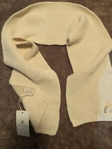 Gucci Girls Creme Knitted Scarf(2-8 Years)