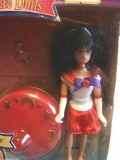 "Sailor Mars 6"" Adventure Doll with Spin Spinner Ban Dai Bandai Rei Moon"