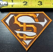 """San Francisco Giants """"SUPER GIANTS""""  3.5"""" MLB Iron/Sew On Patch~FREE SHIPPING~"""